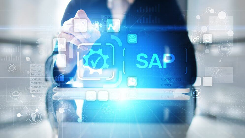 Monitoring system performance for an SAP application