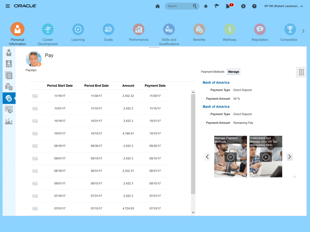 Employees Can View Total Rewards And Compensation Statements In Employee Self-Service Portal