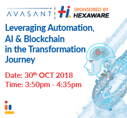 Leveraging Automation, AI & Blockchain in the Transformation Journey