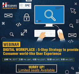WEBINAR - Digital Workplace: 5-step strategy to provide consumer world-like user experience