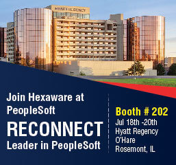 Join Hexaware at PeopleSoft Reconnect, Booth #202