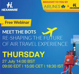 Webinar: Meet the BOTS: Reshaping the future of air travel experience